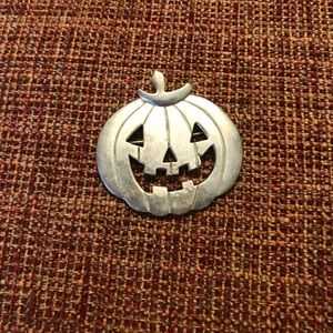 Vintage Sterling Silver Halloween Pin